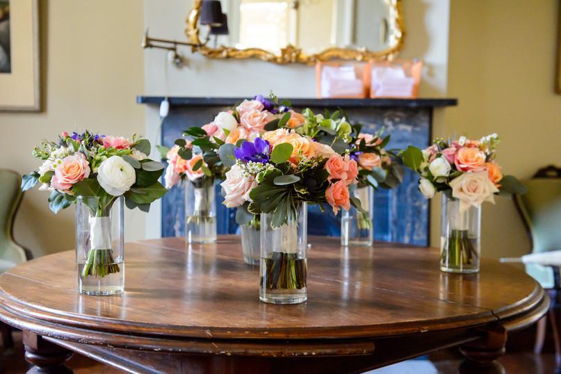 Kristina & Garrett Bridal Party Bouquets