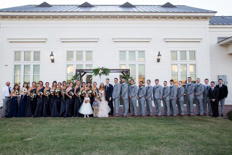 Reiley & Brady Wedding Party