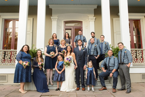 Kristina & Garrett  Wedding Party
