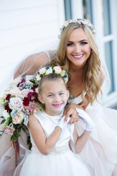 Reiley & Brady Flower Girl & Bride
