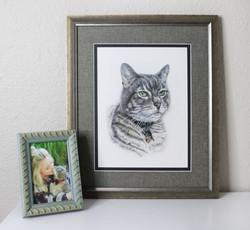 Commemorate your pet with a custom pet portrait