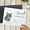 Thumbnail: 16x20 Pet Portrait Gift Card