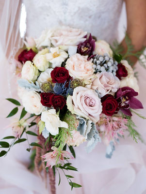 Luxury Bridal Bouquet as seen in Southern Celbrations Magazine. Original floral design by florist Michelle for The Sentimental Petal. Baton Rouge, LA Photo by Collin Ritchie Photography 2018.