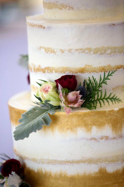 Reiley & Brady Wedding Cake Closeup