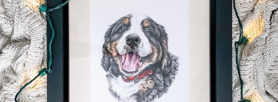 Pet Portrait - Zeke