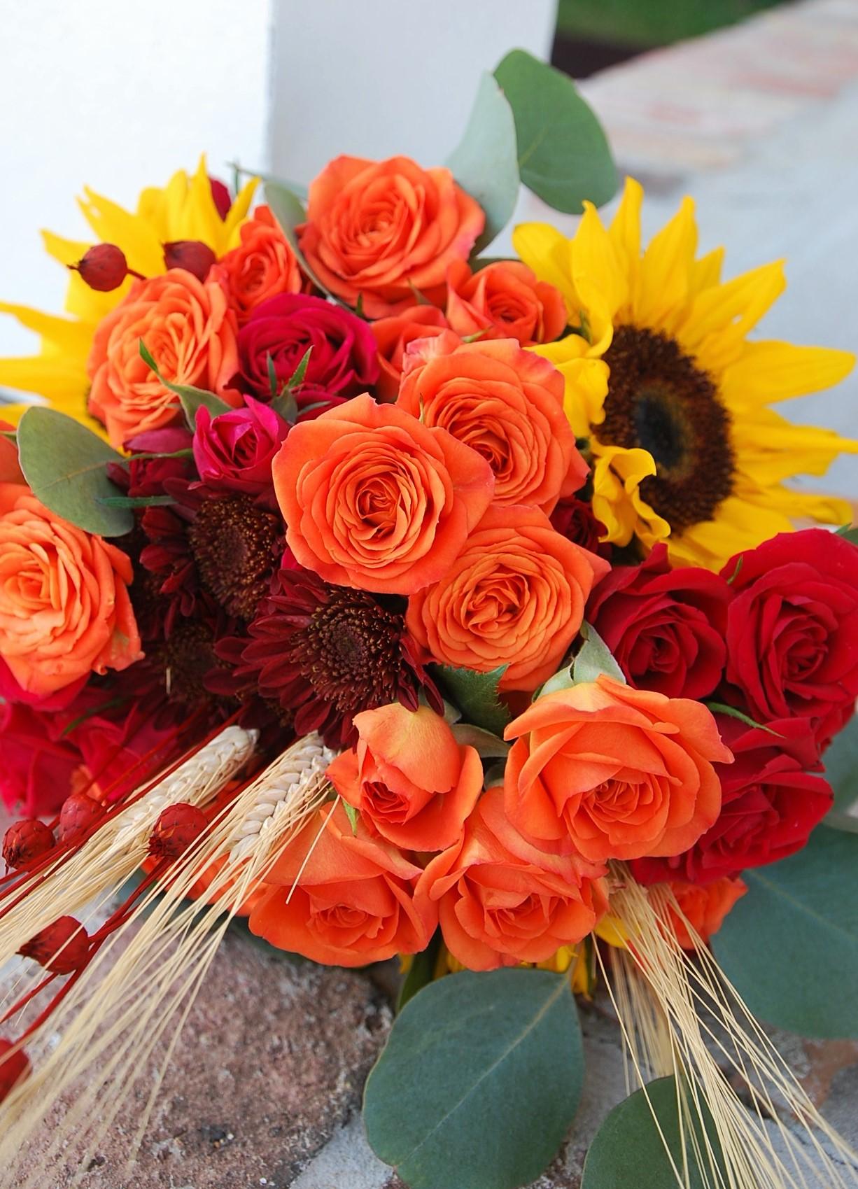 Deana's Bridal Bouquet