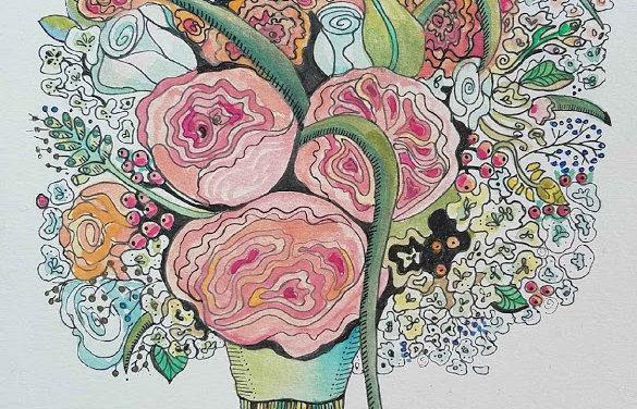 Custom Bouquet Illustration