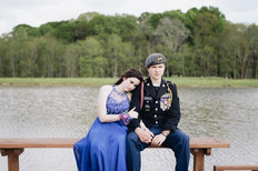 Military Ball Couple