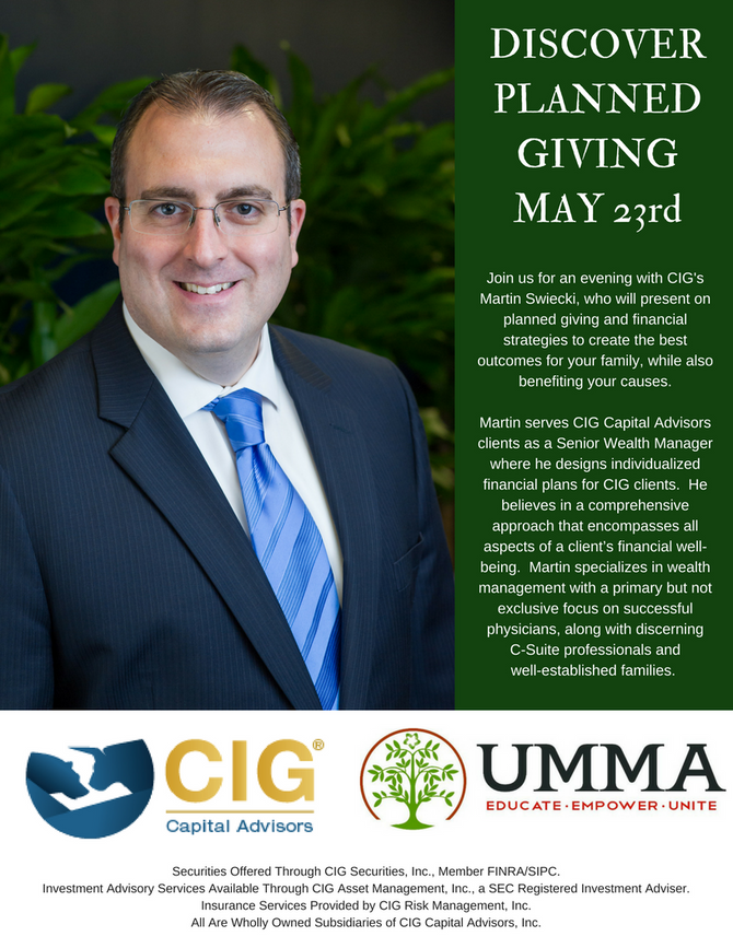 Planned Giving with UMMA