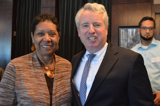 Chris Kennedy at UMMA Benefactors' Lunch