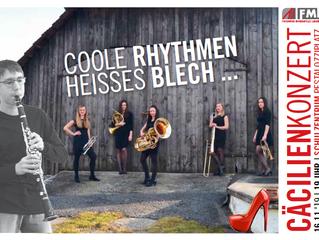 Coole Rhythmen & heißes Blech – Cäcilienkonzert 2019