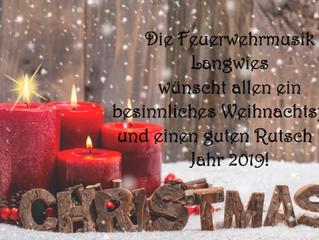 Frohe Weihnachten & einen guten Rutsch ins Jahr 2019