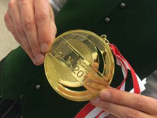 Gold für die Feuerwehrmusikkapelle Langwies