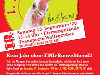 """""""FML – Hendl Drive In"""" – Ein Jahr ohne Bierzelthendl muss nicht sein!"""