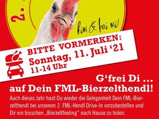 Vorankündigung: 2. FML Hendl Drive-In