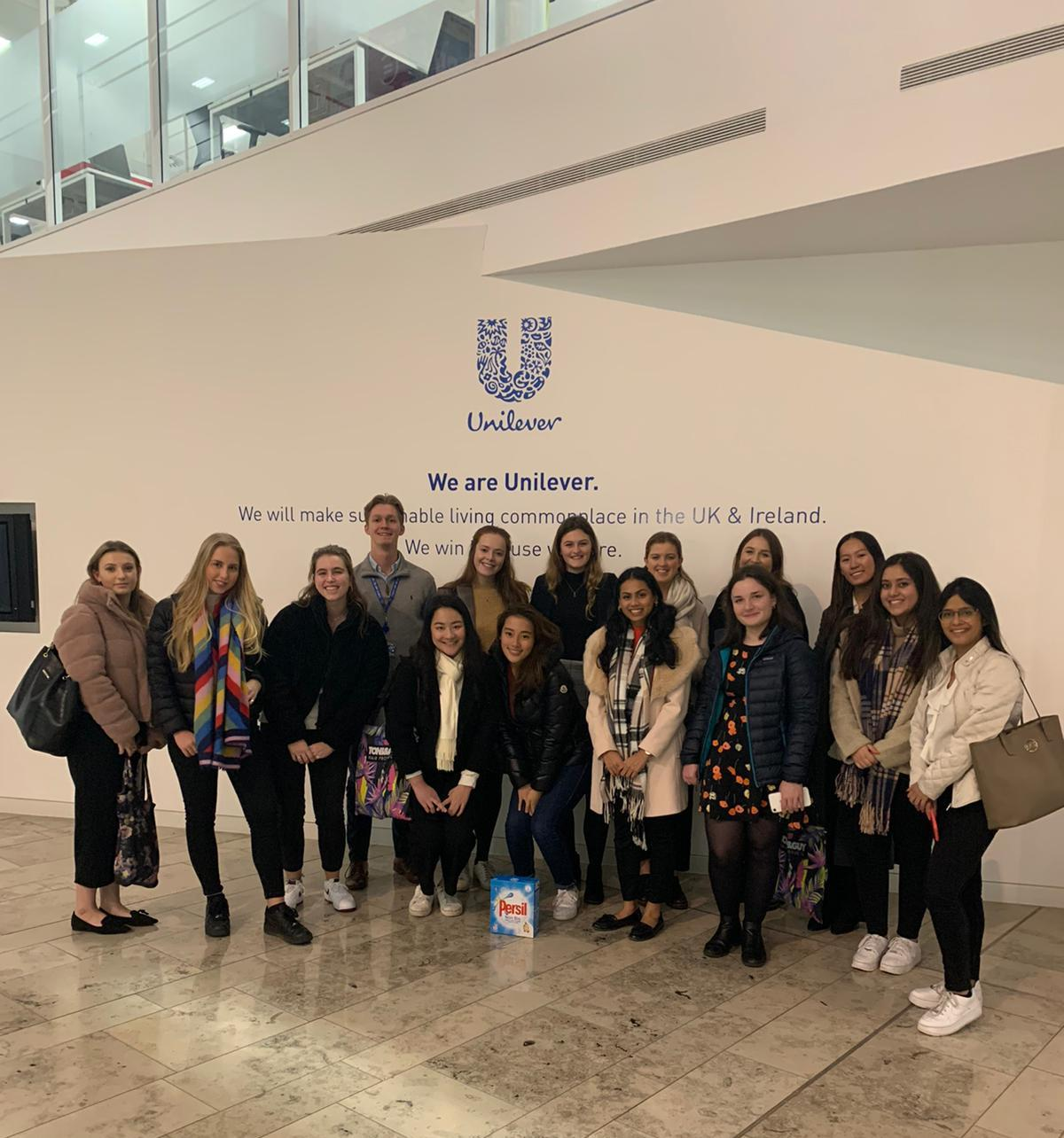 Unilever Office Trip