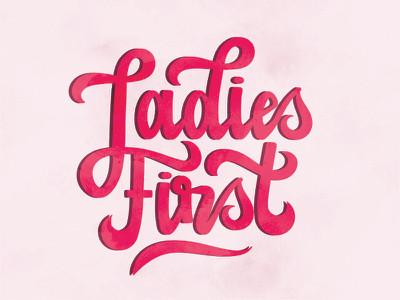 Ladies First?