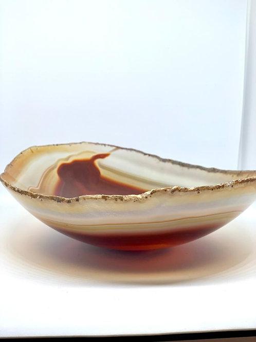 Tigelas em Ágata vermelha - bowl