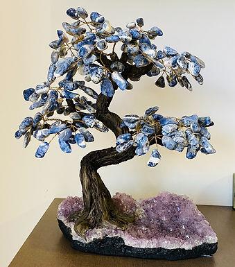 Árvore de Sodalita e Ametista