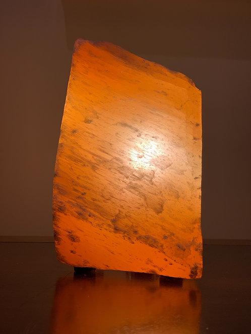 Luminária Selenita pêssego