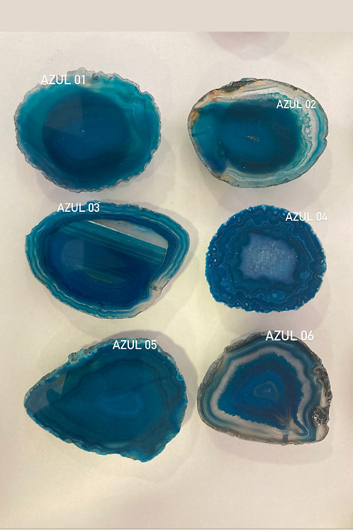 Popsocket celular de Ágata Azul
