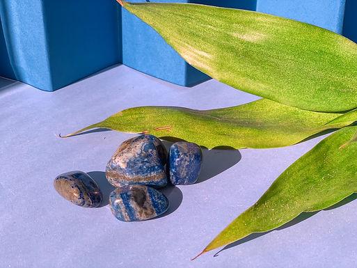 Lápis lazuli rolado