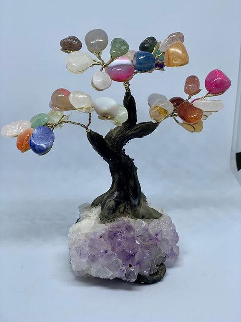 Árvore multicolor 10cm