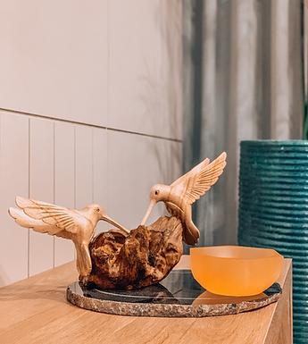 Tigela bowl Selenita laranja