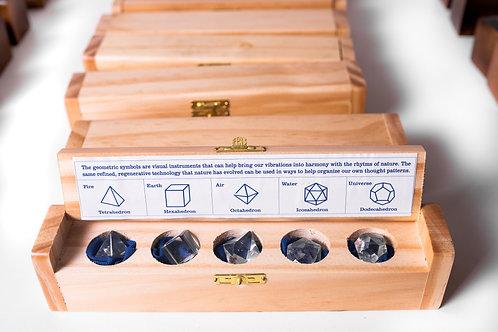 Caixa Cristais geométricos