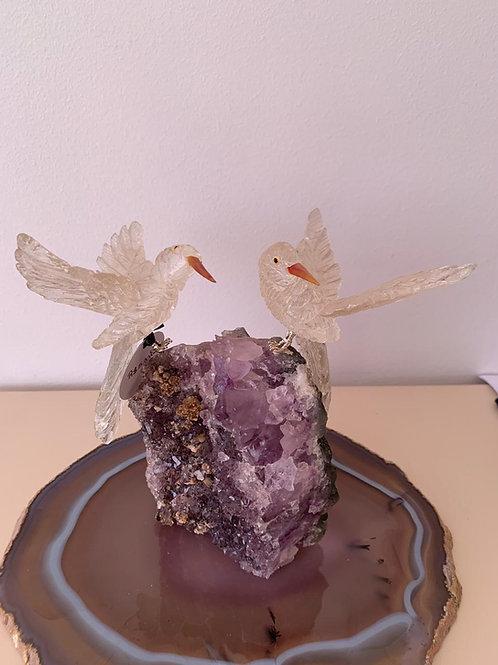 Decoração em Pedra Cristal.