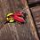 Thumbnail: Cardinal TeenyGryphons - Hard Enamel Pins