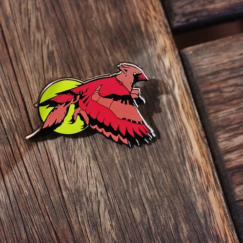 Cardinal TeenyGryphons - Hard Enamel Pins