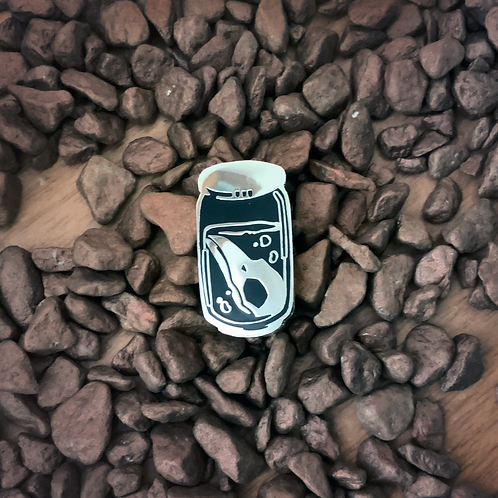 Raven's soda - Hard Enamel pin