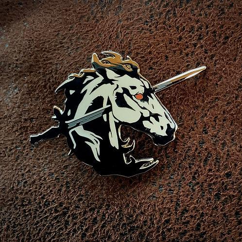Unicorn's Blood 'White' - Hard Enamel pin