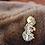 Thumbnail: Black Fox - Hard Enamel Pin