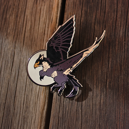Falcon TeenyGryphons - Hard Enamel Pin