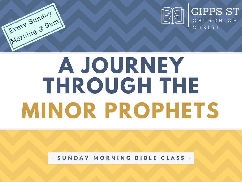 Journey through the Minor Prophets