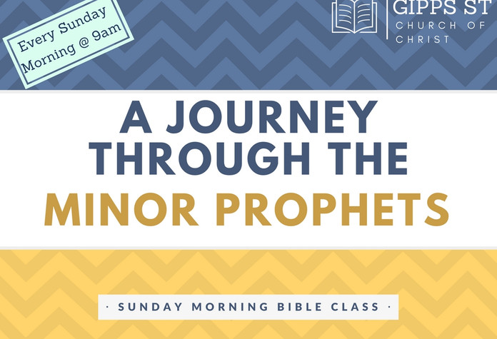 Journey through the Minor Prophets