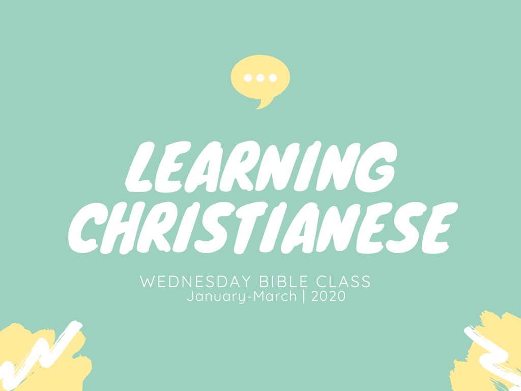 Learning Christianese