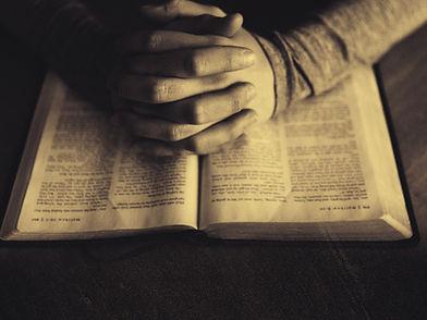 Scripture On Praying Christian Worship B