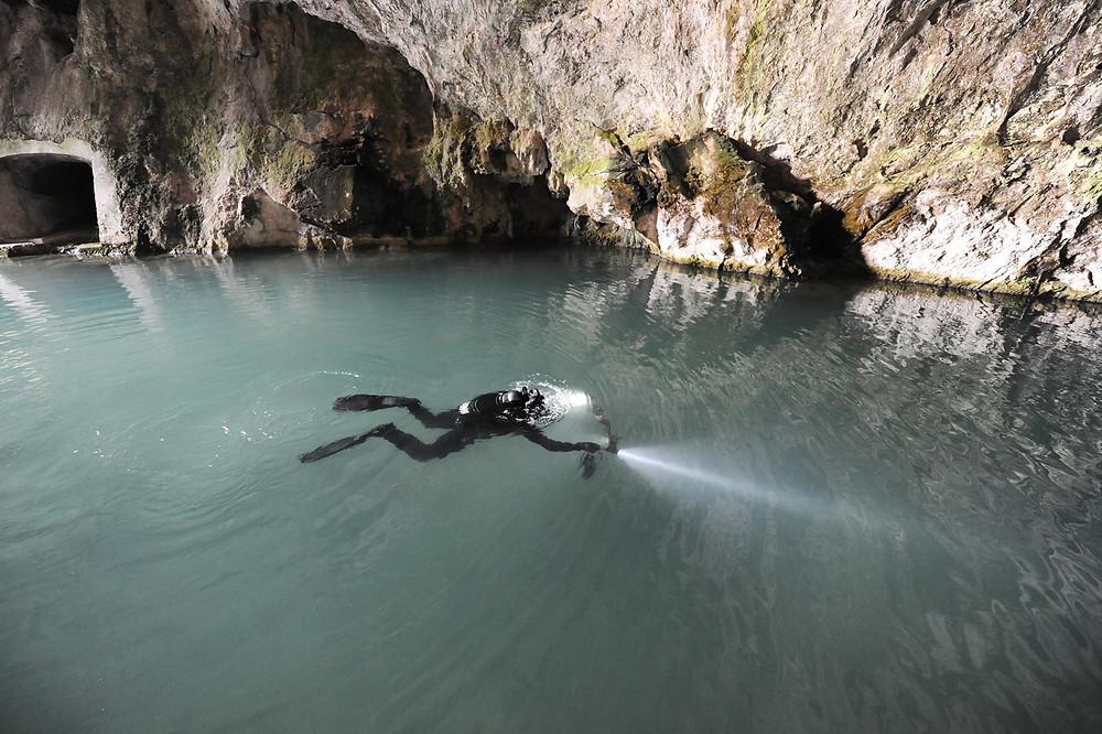 Grotte di Pertosa Auletta Immersioni Subacquee Nucleo Sub Molfetta