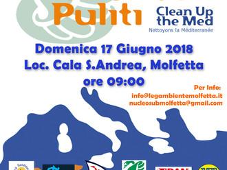 Spiagge & Fondali Puliti 2018 - Dive Against Debris Project Aware