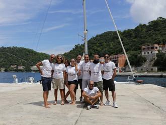Cruise Sailing Underwater Croazia 2014