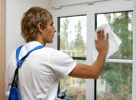 Top Ten Reasons to…Hire a window cleaning professional