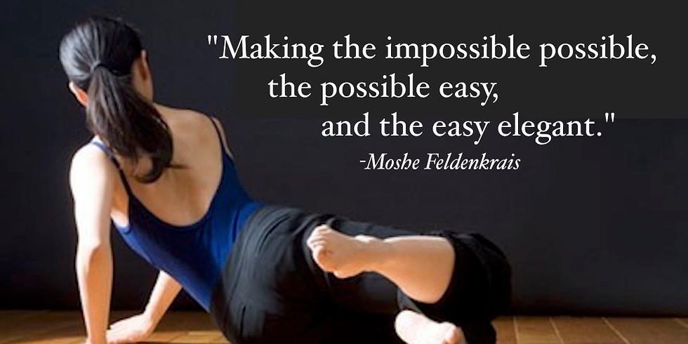 Movement & Ease: The Feldenkrais Method ($25 per person)