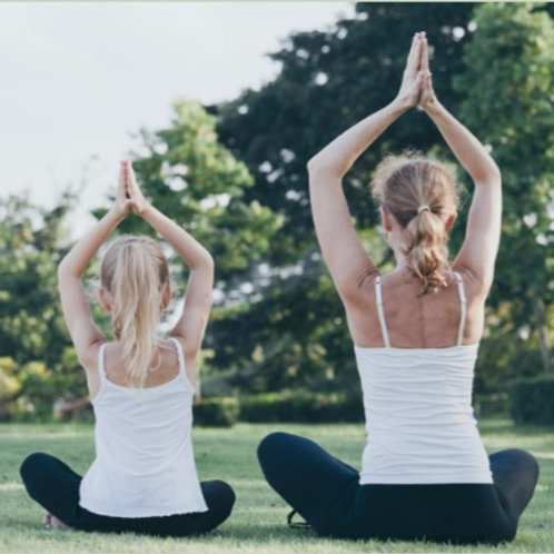7pm Outdoor Yoga Class Kids (9-12yrs)