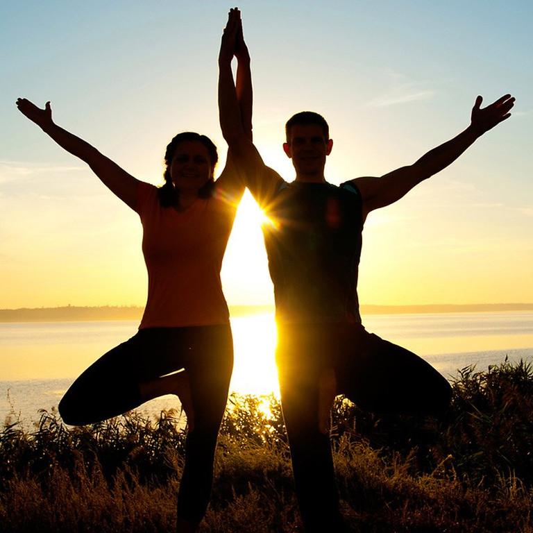 Equinox & Equanimity: Partner Yoga ($50- Includes 2 Passes)