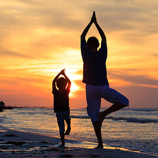 Open Your Heart Partner Yoga (Kids Ages 4-8 & Parent/ Guardian) ($30 includes registration for Child and Guardian)