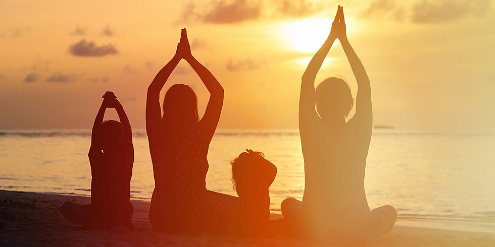 Shine Bright Family Yoga (Parent/Guardians and Children, ages 3-8) ($20 Drop-In)