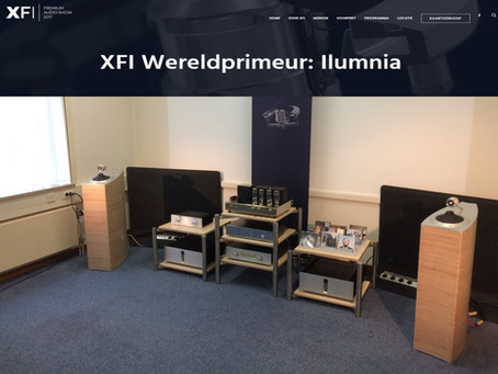 Ilumnia enters it's World Première at X-Fi Netherlands